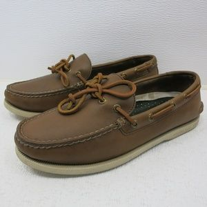 Sperry Top-Sider Oil Tanned Leather Deck Loafer 8